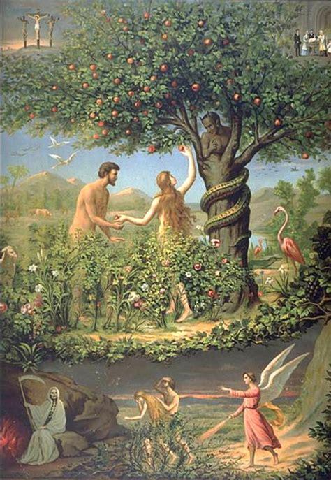 l histoire d adam et chasser du jardin d