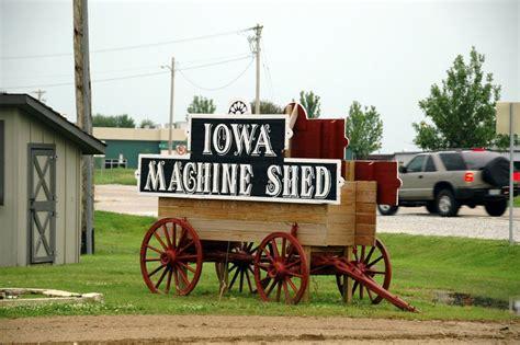 Iowa Machine Shed by Iowa Photos