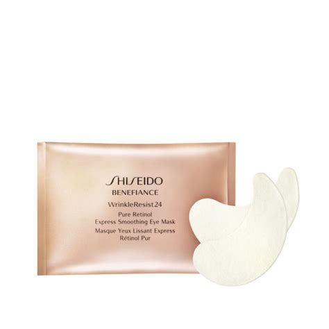 Mask Naturgo Sheisedo Gold Sachet shiseido benefiance retinol express smoothing eye mask x 12 sachets buy mankind