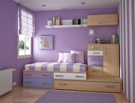 awesome College Dorm Decorating Ideas #3: cool-teen-violet-dorm-room.jpg