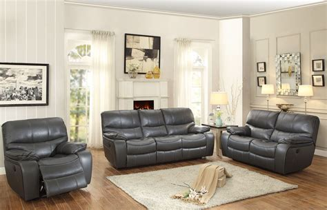 amado 3 reclining living room set pecos gray reclining living room set 8480gry 3