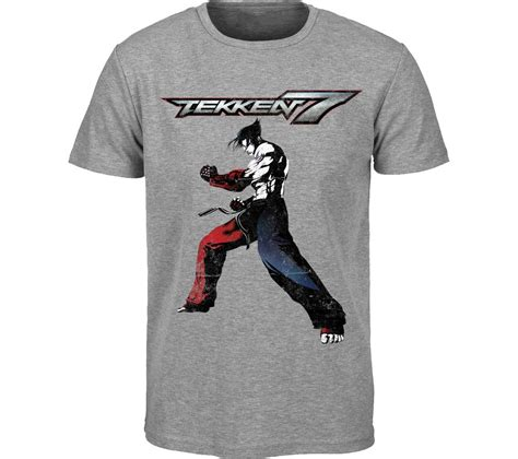 tekken tekken 7 t shirt large grey deals pc world