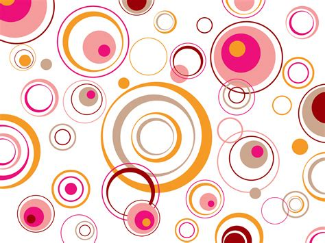 retro circles template ppt backgrounds abstract black