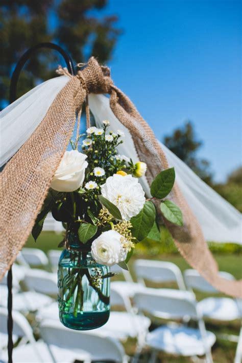 diy wedding ceremony decor kirsten christian s small budget rustic diy virginia wedding capitol practical