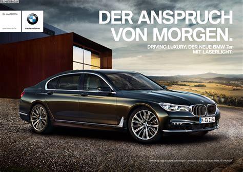 Bmw 3er Werbung by Der Anspruch Morgen Bmw 7er Werbung F 252 R Tv Und Print