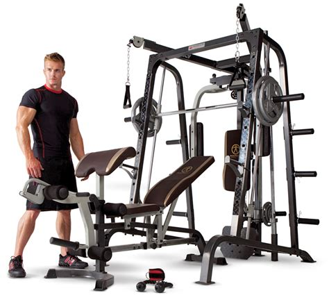 linear bearing smith machine combo for home gyms marcy
