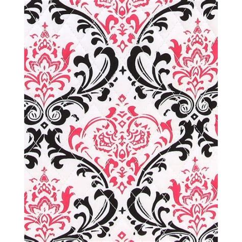 Pink White White Black Embroidery belvah bags large tote bag white black pink damask new pattern