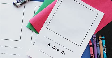 Make Your Own Book For Free Printable Day