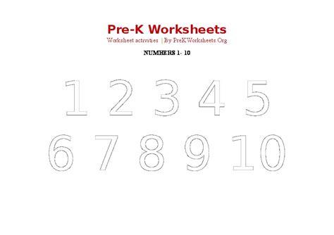 printable numbers 1 20 pdf number tracing worksheets 1 20 pdf kindergarten
