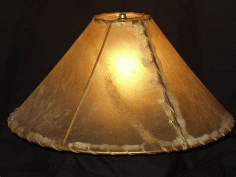 What Size Lamp Shade by Rawhide Lamp Shades For Rustic Lighting How To Measure