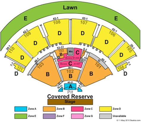 the woodlands pavilion seating chart the cynthia woods mitchell pavilion tickets in