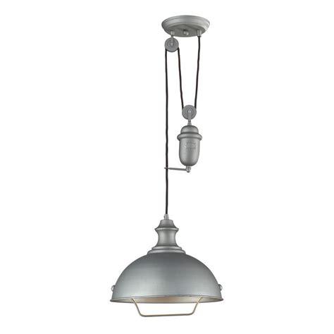 titan lighting farmhouse 1 light aged pewter ceiling mount