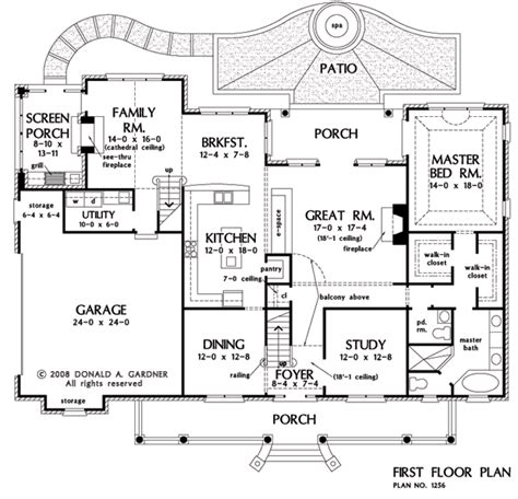 southfork ranch floor plan house plan the eastlake by donald a gardner architects
