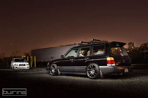 stanced subaru forester stanced 2001 subaru forester www imgkid com the image