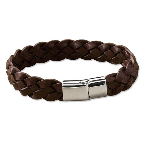 leather bracelets mens braided leather bracelet braided leather bracelet