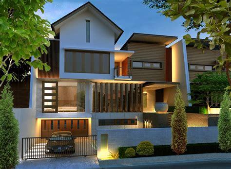 Desain Rumah Minimalis Mewah Dan Modern 1 Lantai   Contoh Gambar Rumah