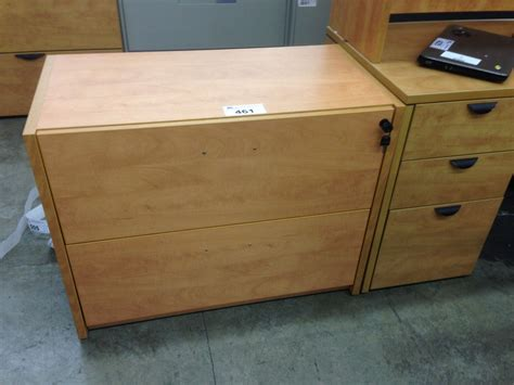 Maple Lateral File Cabinet Honey Maple 2 Drawer Lateral File Cabinet Able Auctions