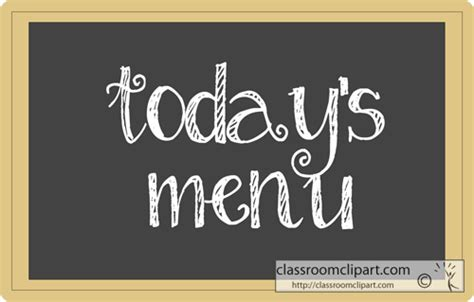 today s signs clipart todays menu chalkboard classroom clipart