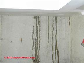 basement wall leak basement diagnosis cure how to inspect for basement