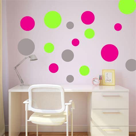 polka dot wall sticker polka dot wall stickers