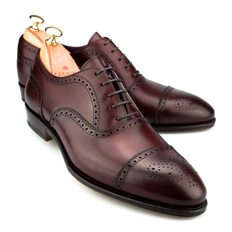 Brogue Oxfords semi brogue inca oxford shoes carmina