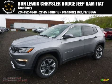 silver jeep compass 2017 jeep compass limited 4x4 in billet silver metallic