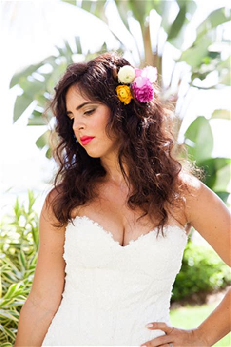 Wedding Hair Accessories Island by A Tropical Wedding Inspiration Shoot In The Islands