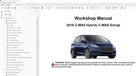 ford focus c max repair manual product user guide instruction