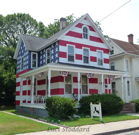 hanging flag on house american flag house in cambridge maryland they were told they couldn t hang a