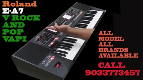 Keyboard Roland A7 Roland E A7 Arranger Keyboard Review All Sounds