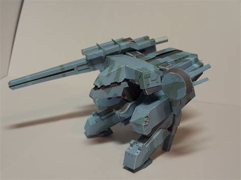 Metal Gear Rex Papercraft - metal gear rex by guardianstorm on deviantart