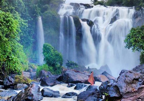 wisata air terjun indah  menawan  lampung info
