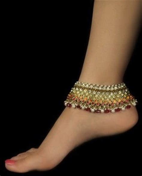 13 model gelang kaki india wanita tercakep cuakep