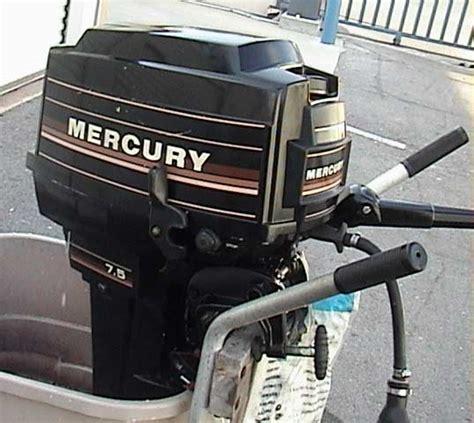 used mercury boat motors sale used mercury 7 5hp outboard boat motor long shaft mercury