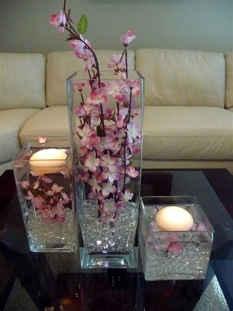 Vase Decoration Table by Diy Glass Vase Decorations Centerpieces With Corn Sand And