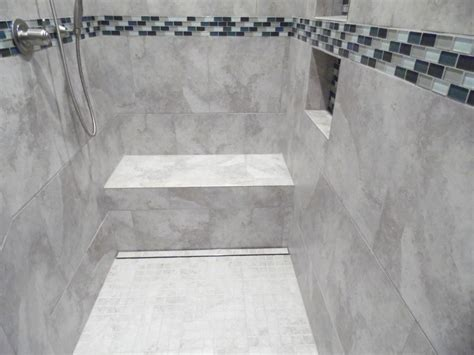 How To Shower With A by Tile And Showers Alone Eagle Remodeling