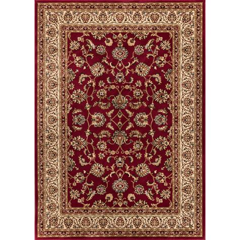 red accent rug well woven barclay sarouk border red area rug reviews
