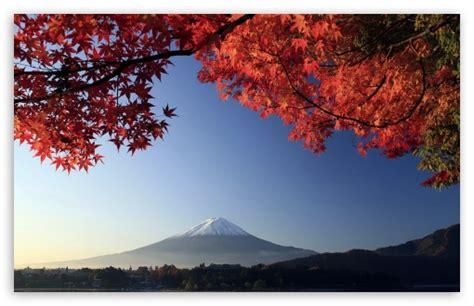 apple wallpaper japan autumn mount fuji japan 4k hd desktop wallpaper for 4k