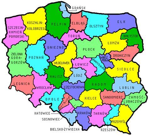 catholic diocese map poland s catholic dioceses