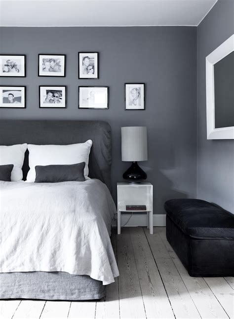 gray wall bedroom home noa ranting rambling in london