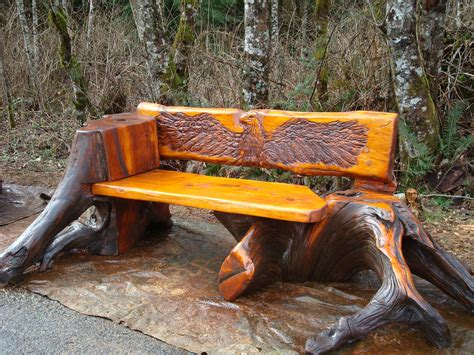 chainsaw benches chainsaw steve turnbull master carver