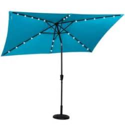 Rectangular Patio Umbrella With Solar Lights Best Rectangular Patio Umbrella With Solar Lights Outsidemodern