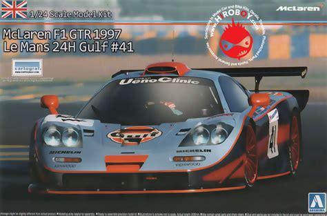 124 Mclaren F1 Gtr 1997 Le Mans 24h 1 24 mclaren f1 gtr 1997 le mans gulf 41 aos 007525 aoshima