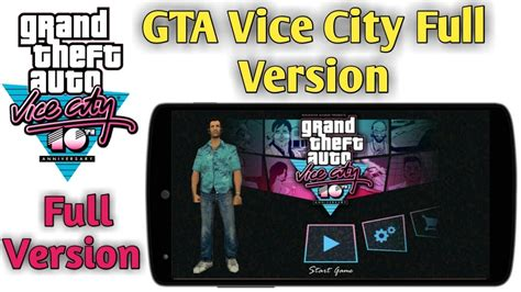 how to play full version android games for free download play gta vice city full version android game