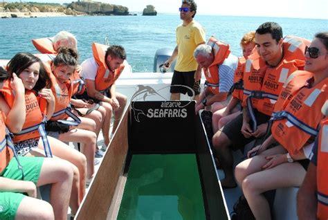 glass bottom boat experience algarve glass bottom boat experience