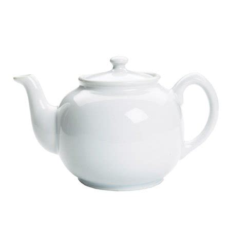 10 cup ceramic teapot foxrun white glazed ceramic teapot with lid 10 cup