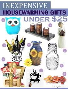 Gifts For Housewarming Inexpensive Housewarming Gifts Under 25 Vivid S