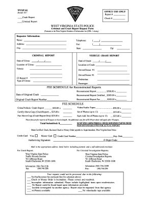 Virginia State Criminal Record Request Blank Report Template Forms And Templates Fillable Forms Sles For Pdf Word