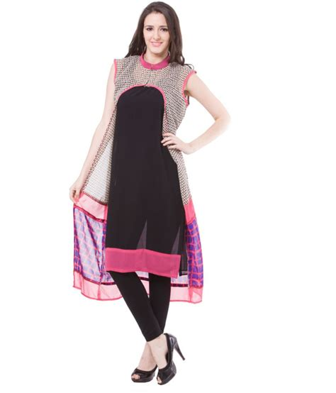 women s vivaa designer sleeveless women s long kurti buy vivaa