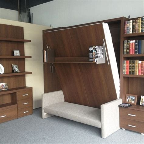murphy bed office furniture space saving furniture for small living room folding wall